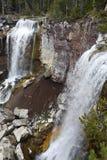 Paulina Creek Falls in Deschutes County, Oregon Royalty Free Stock Photo