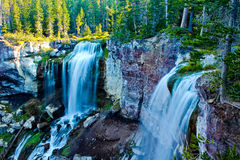 Paulina Creek Falls Oregon Royaltyfria Bilder