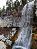 Paulina Falls and orange backdrop Royalty Free Stock Photo