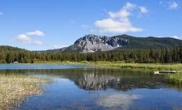 Paulina jezioro w lecie Obraz Royalty Free
