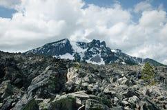 Paulina Peak Cloudy Day Foto de archivo