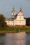 Pauline Church sulla roccia a Cracovia immagini stock libere da diritti