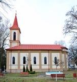 Paulis village church Stock Images