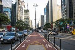 Paulista大道 免版税库存照片