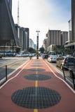 Paulista大道 图库摄影