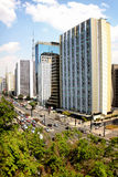 Paulista Avenue - Brazil Stock Photos