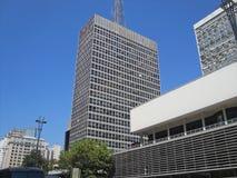 Paulista Avenue Royalty Free Stock Photography