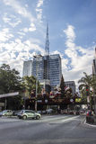 Paulista Avenue - Christmas decorations Stock Photos