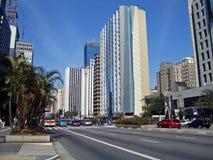 Paulista Avenue Stock Photography