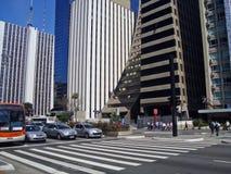 Paulista Avenue Royalty Free Stock Photo