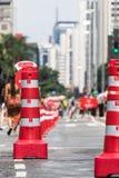 Paulista Avenue - The Main Tourist Attraction in Sao Paulo, Brazil. Paulista Avenue - The Main Tourist Attraction in São Paulo, Brazil stock images