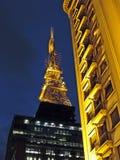 Paulista Avenue at night Royalty Free Stock Image