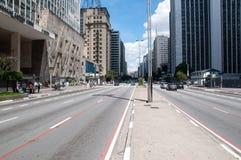 Paulista Avenue in Sao Paulo, Brazil Royalty Free Stock Photos