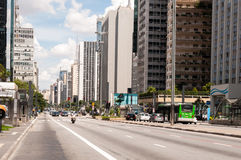 Paulista Avenue in Sao Paulo, Brazil Stock Photo