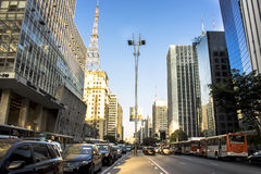 Paulista Avenue Stock Images