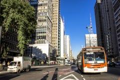 Paulista Avenue Stock Image