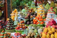 Paulistano kommunal marknad, São Paulo, Brasilien Arkivbilder