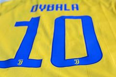 Paulo Dybala FC Juventus Turyn bydło Fotografia Royalty Free