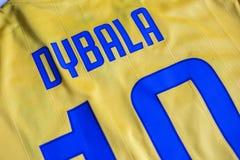 Paulo Dybala FC Juventus Turyn bydło Obraz Royalty Free