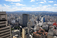 São Paulo General View Stock Photography
