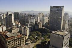 São Paulo im Stadtzentrum gelegenes - São Paulo - Brasilien Lizenzfreies Stockfoto