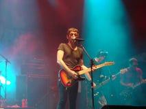 Paulo Miklos - Titãs Band Lizenzfreie Stockbilder