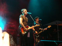 Paulo Miklos - Titãs Band Stockbild