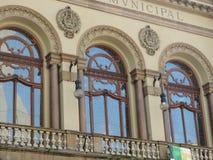 São Paulo Municipal Theater Stock Photos