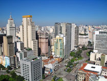 São Paulo skyline Royalty Free Stock Photos