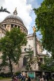 Pauls Kathedrale, London Lizenzfreie Stockfotos