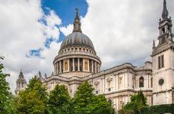 Pauls Kathedrale, London Lizenzfreies Stockbild