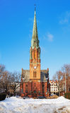 Paulus Church in Oslo, Norway Stock Images