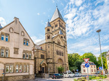 Paulus - kirche (church)in Trier Royalty Free Stock Photo