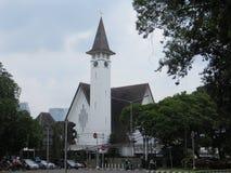 Paulus kościół w Menteng, Dżakarta Zdjęcie Royalty Free