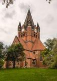 Pauluskirche哈雷 库存图片