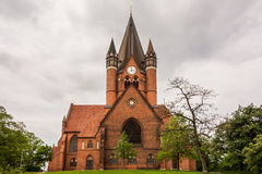 Pauluskirche Halle Fotografia Royalty Free