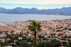 Paume à Cannes, festival de film Image stock