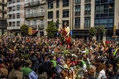Paume dimanche à Vigo - en Galicie, Espagne Image libre de droits