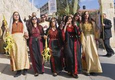 Paume dimanche de Jérusalem Images libres de droits