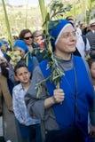 Paume dimanche de Jérusalem Image libre de droits