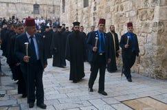 Paume dimanche de Jérusalem Photos libres de droits