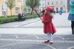 Paume dimanche en Pologne Image stock