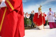 Paus Benedict XVI. Royalty-vrije Stock Foto's