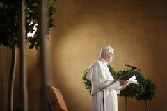 Paus Benedict XVI. Royalty-vrije Stock Foto