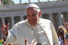 Paus Francis Portrait Stock Afbeelding
