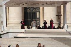 Paus Francis in Rome Royalty-vrije Stock Fotografie