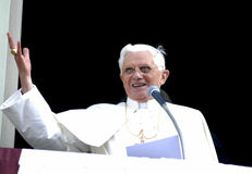 Paus Joseph Benedict XVI Stock Foto
