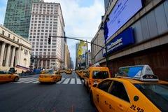 Paus New York op muur Royalty-vrije Stock Foto's