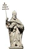 Paus Sylvester I royalty-vrije stock afbeeldingen