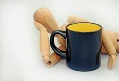 Pausa caffè Immagini Stock